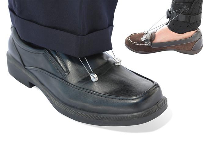 استفاده از بریس دراپ فوت در کفش