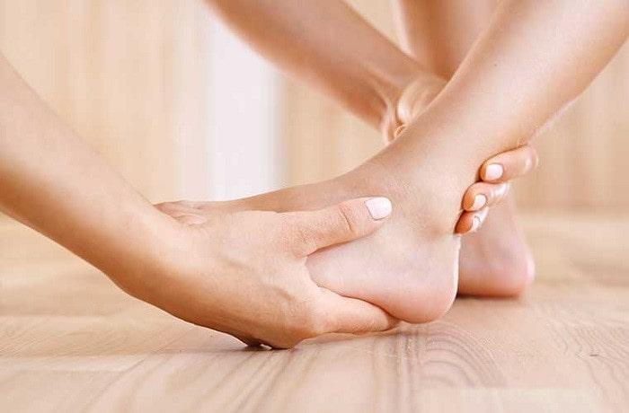 درمان داغی پاها