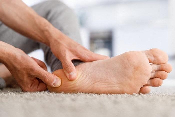 مراقبت برای درد پاشنه پا