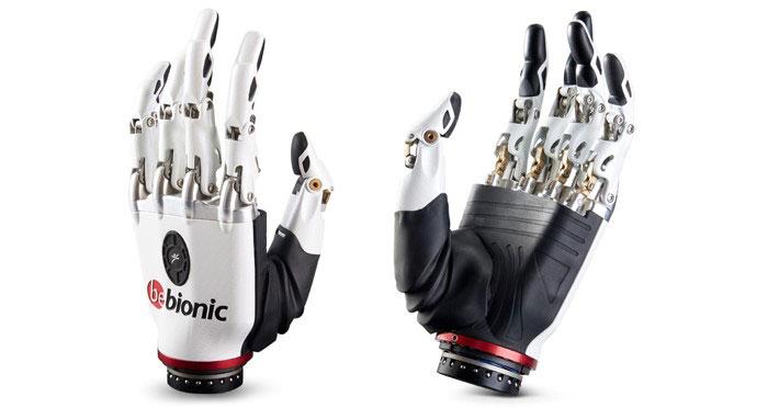 پروتز دست مصنوعی هوشمند (الکترونیک) شبیه ترین پروتز به دست واقعی