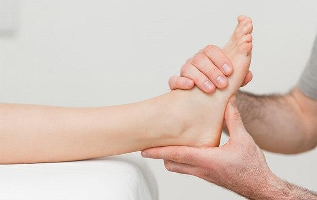 فیزیوتراپی برای درد پاشنه پا