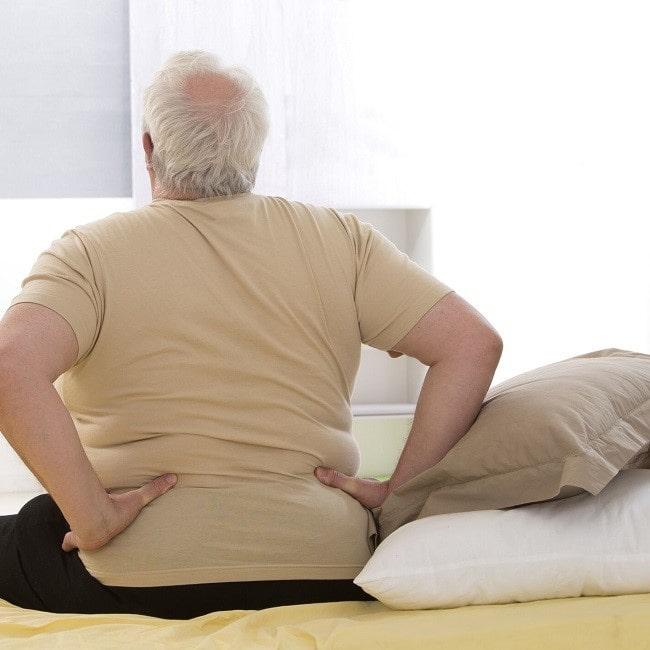 موقعیت بدن در ارتباط با تنگی کانال نخاع